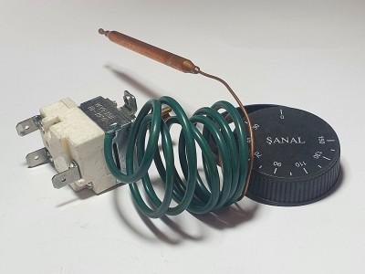 Термостат капилярный  3 контакта Турция SANAL