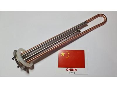 Тэн 1,3 кВт Медь  прямой с трубками под 2 терм Китай