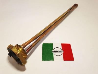 медный тэн прямой формы с латунным основанием 1.1/4 Производство Италия мощность 1500