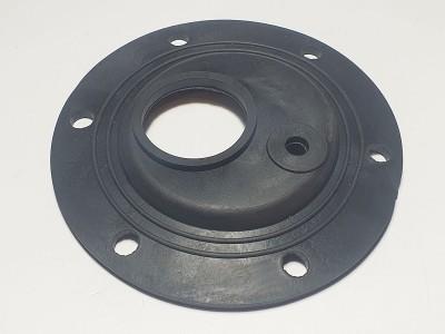 Прокладка резиновая  d125 под 6 болтов (Round) со смещением под флянец ( 17 )
