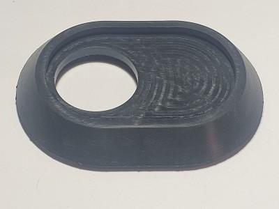 Прокладка овальная под флянец с посадочным местом ( 8 )